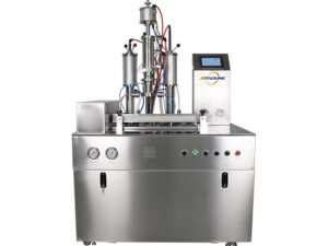 Under cap vacuum aerosol filling machine 1600DT - jrpacking