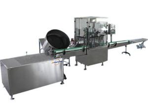 Single platform aerosol filling machine 2800A - jrpacking