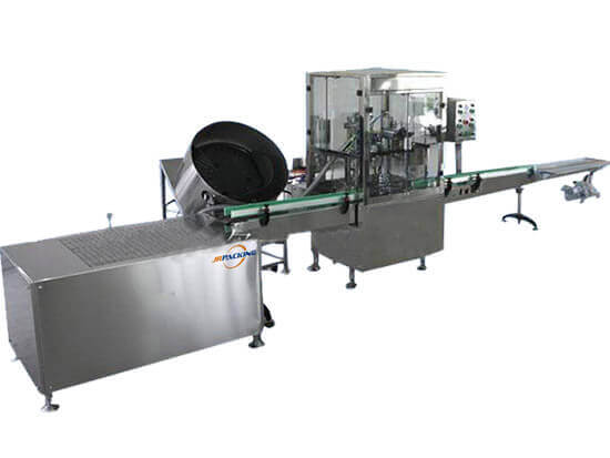 automatic aerosol filling machine for PU foam spray production - jrpacking