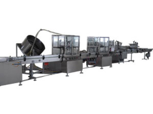 Automatic PU foam aerosol filling assembly line 2800C - jrpacking