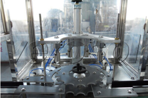 Spray can filling machine for chemical industry - jrpacking
