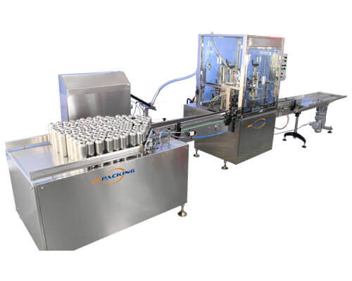 2800A Automatic aerosol filling machine line - jrpacing