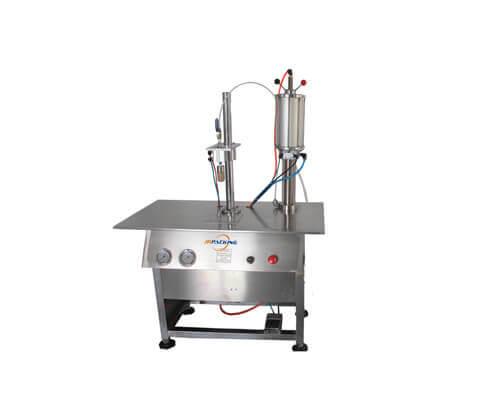 CJ-N semi automatic gas filling machine - jrpacking