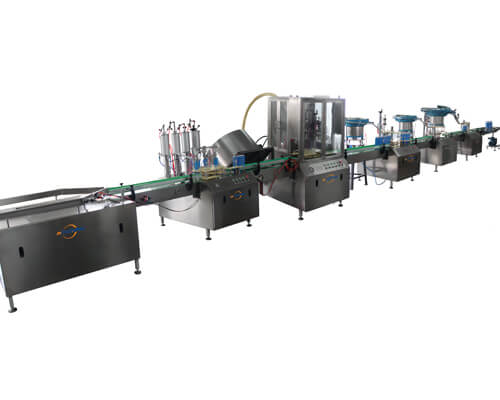 full automatic aerosol filling machine line 2800B - Jrpacking