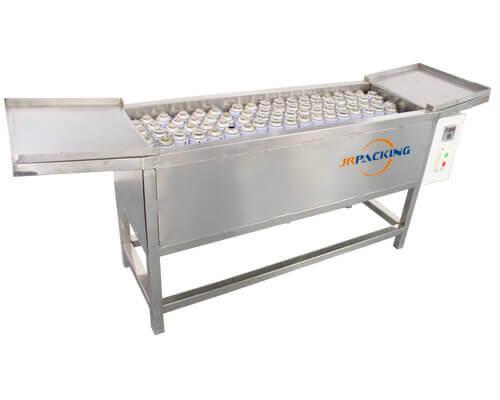 Water bath leakage testing machine for aerosol filling products - Jrpacking
