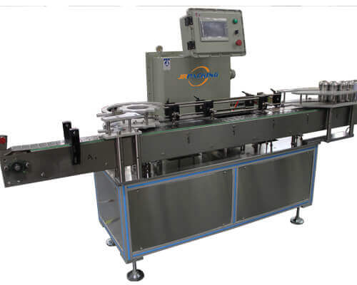 Automatic weighing machine for aerosol filling line - jrpacking