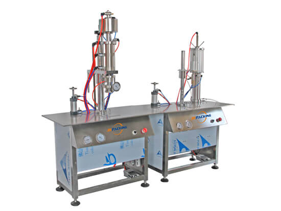 aerosol filling machine for spray cake release agent production - tygulida