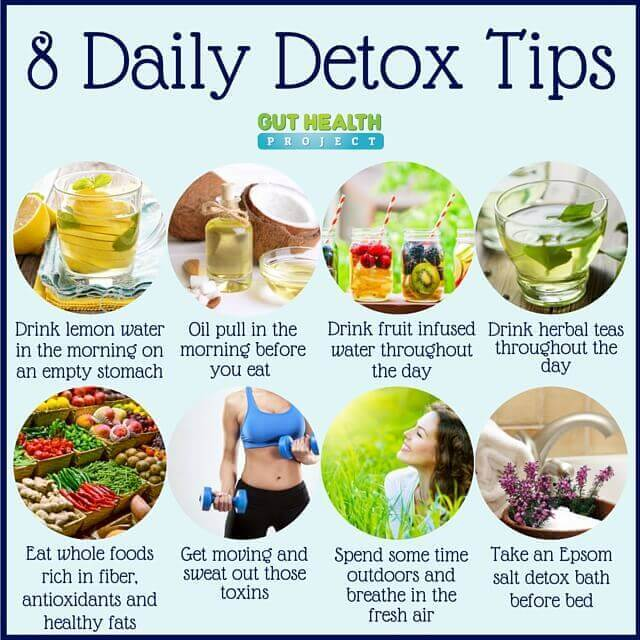 how to detox everyday? - jrpacking