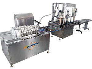 2800A automatic aerosol filling machine - jrpacking