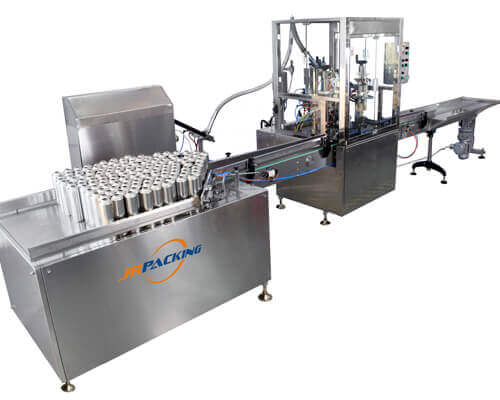 aerosol filling machine for aerosol pesticide sprayer production - tygulida