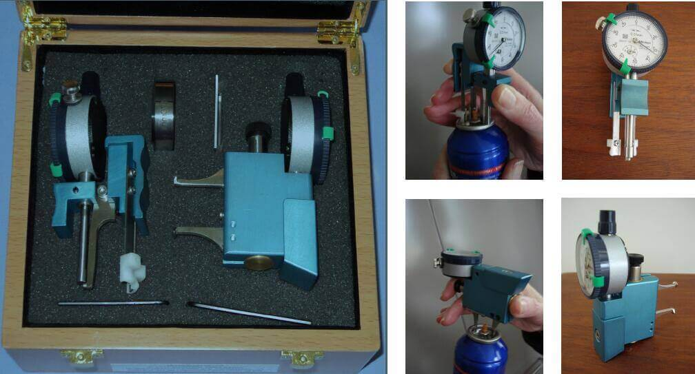crimping diameter and deepth test instrument - jrpacking